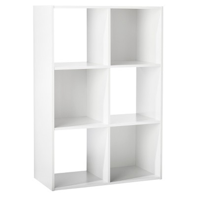 "11"" 6 Cube Organizer Shelf White - Room Essentials™"