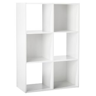 "6-Cube Organizer Shelf White 11"" - Room Essentials™"