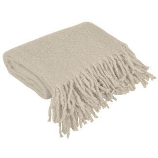 Bryan Fringe Throw Blanket Gray - Décor Therapy