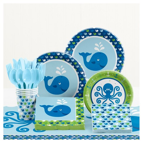 Ocean Preppy Birthday Party Supplies Kit - image 1 of 1