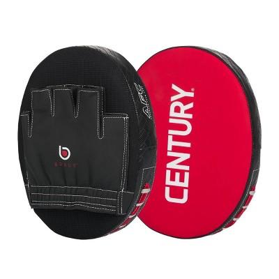 Century Martial Arts Brave Punch Mitt Pair - Red/Black