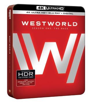 Westworld: The Complete First Season (4K/UHD + Blu-ray + Digital)