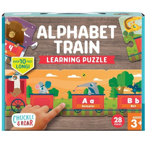 Chuckle & Roar Alphabet Train Learning Puzzle - 28pc - image 1 of 4