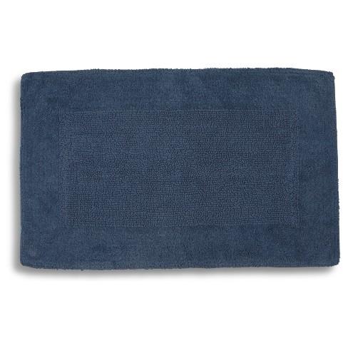 Kyoto Bath Rugs Indigo Blue- Kassatex® : Target
