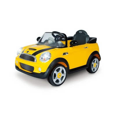 Rollplay 6V Mini Cooper Powered Ride-On - Yellow