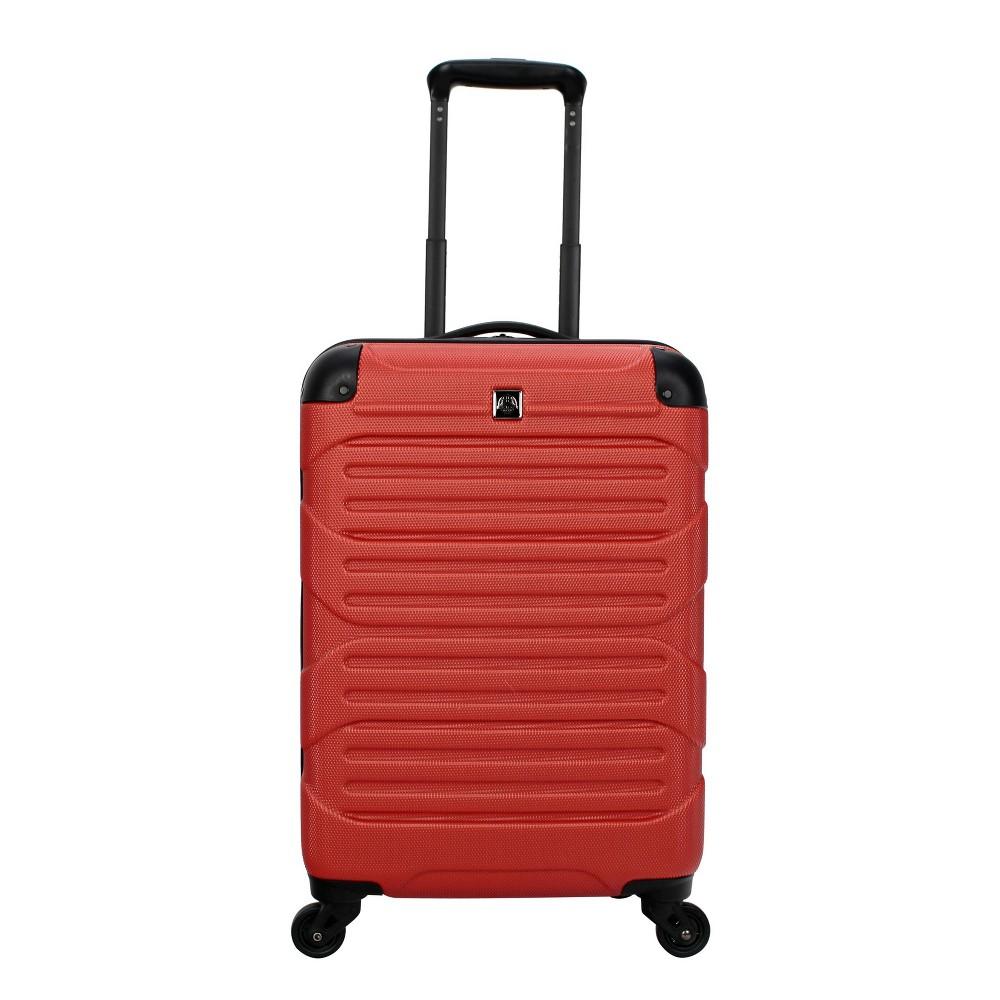 "Image of ""Skyline 20"""" Hardside Spinner Carry On Suitcase - Orange"""