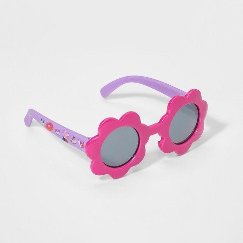 Girls Peppa Pig Sunglasses Pink Purple One Size