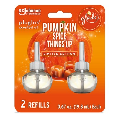 Glade Piso Refills - Pumpkin Spice Things Up - 2ct