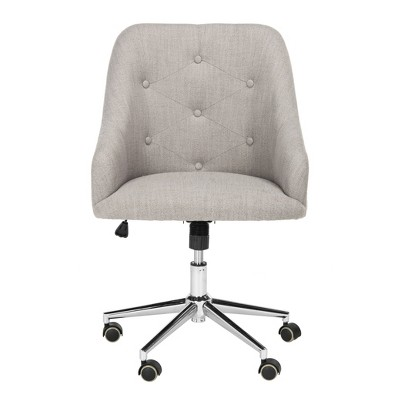 Evelynn Tufted Swivel Office Chair - Safavieh