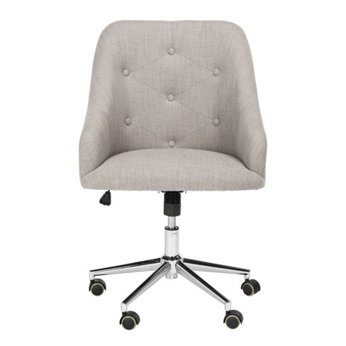 Remarkable Evelynn Tufted Swivel Office Chair Safavieh Ocoug Best Dining Table And Chair Ideas Images Ocougorg