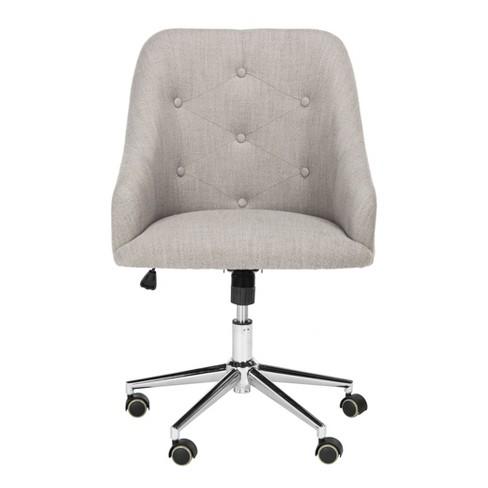 Evelynn Tufted Swivel Office Chair - Safavieh - image 1 of 7