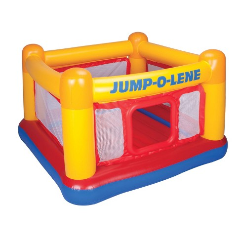 release date 40afc 09198 Intex Inflatable Jump O Lene Play Ball Pit Playhouse Bounce House Ring for  Kids