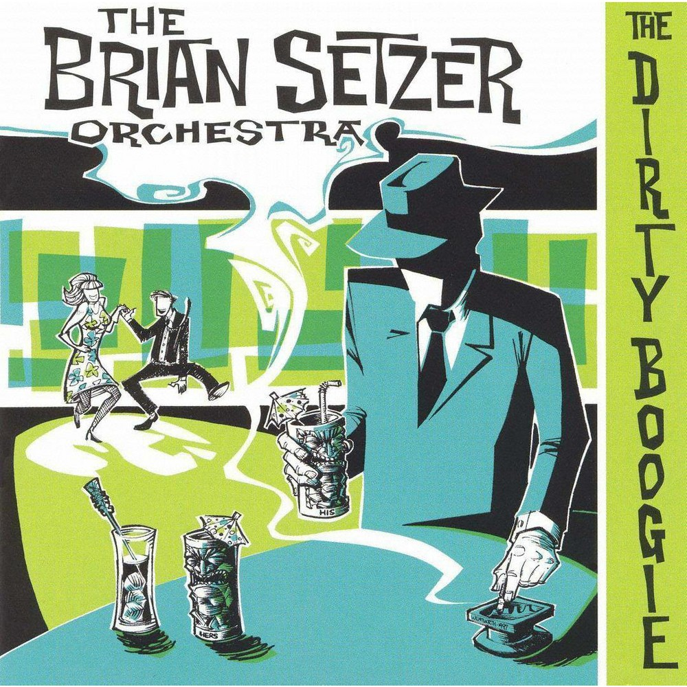 Brian Orches Setzer - Dirty Boogie (CD)