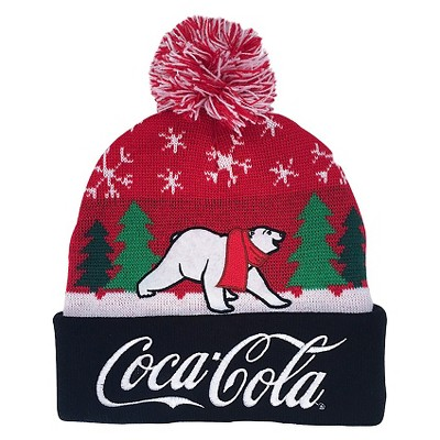 Coca Cola™ Men s Beanies - Red Black One Size   Target c7d39222539
