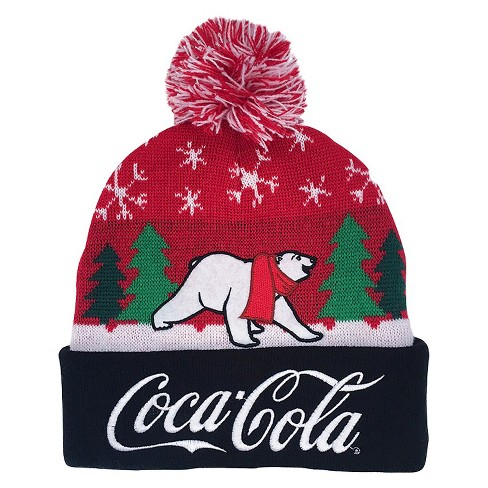 Coca Cola™ Men's Beanies - Red/Black One Size - image 1 of 1