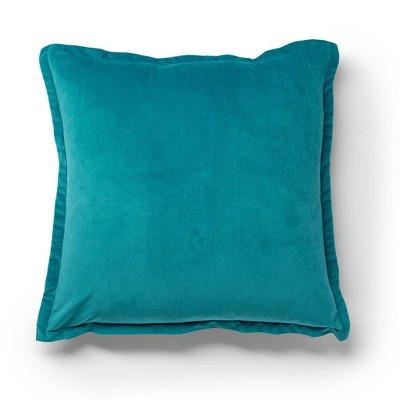 """20""""x20"""" Oversize Puffy Velvet Square Throw Pillow - Sure Fit"""