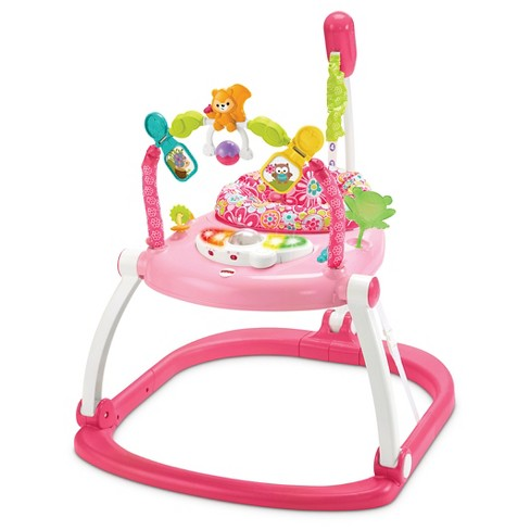 Fisher-Price Floral Confetti SpaceSaver Jumper -Pink/White - image 1 of 7