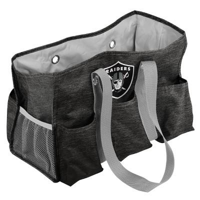 NFL Las Vegas Raiders Crosshatch Jr Caddy Backpack