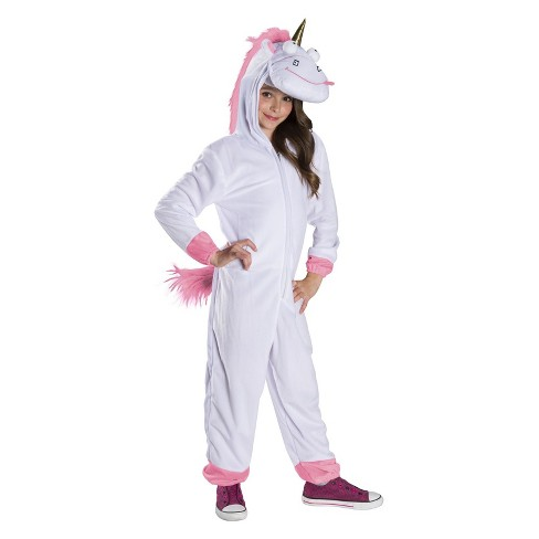 Kids' Despicable Me Fluffy Oversized Jumpsuit Halloween Costume - image 1 of 1