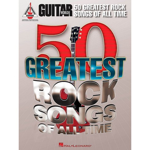 Hal Leonard Guitar World's 50 Greatest Rock Songs Of All Time Guitar Tab Songbook - image 1 of 1