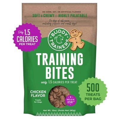 Buddy Biscuits Training Bites Chicken Dry Dog Treats - 10oz