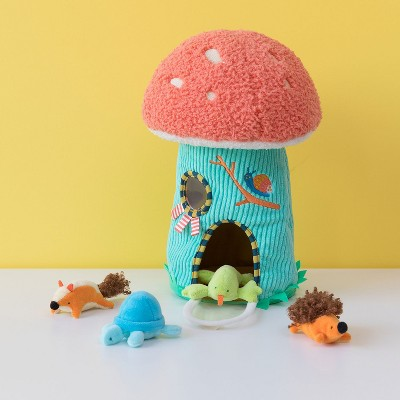 Manhattan Toy Toadstool Cottage Plush Fill & Spill Baby and Toddler Activity Toy