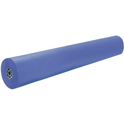 Rainbow Duo-Finish Kraft Paper Roll, 40 lb, 36 Inches x 1000 Feet, Royal Blue
