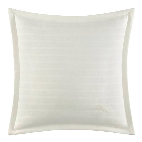 """Relax By Tommy Bahama 18""""x18"""" Isla Morada Decorative Throw Pillow White - image 1 of 2"""