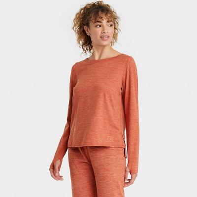 Women's Cozy Spacedye Long Sleeve Top - JoyLab™