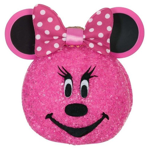 "Halloween Minnie Mouse Sparkling 6"" Pumpkin - image 1 of 1"