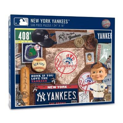 MLB New York Yankees 500pc Retro Series Puzzle