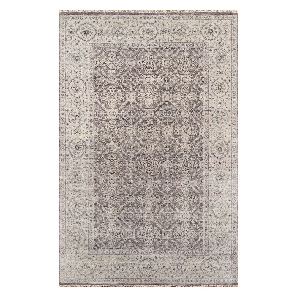 2'X3' Holly Knotted Accent Rug Taupe - Momeni, Gray