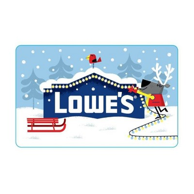 Lowe's Holiday Gift Card $100 (Email Delivery)