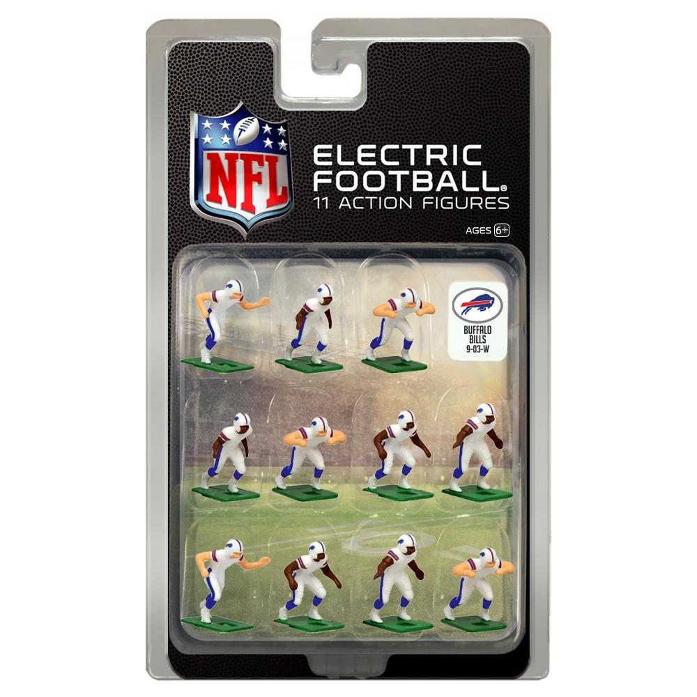 Nfl Buffalo Bills Tudor Games Away Uniform Electric Football Action Figure Set