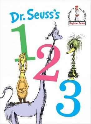 Dr. Seuss's 1 2 3 - (Beginner Books)(Hardcover)