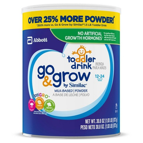 Go & Grow by Similac Toddler Drink Powder - 30.8oz - image 1 of 4