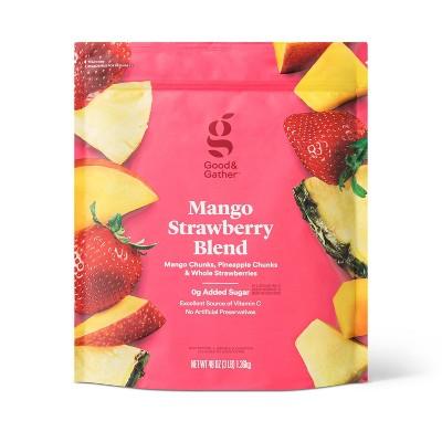 Frozen Mango Strawberry Fruit Blend - 48oz - Good & Gather™