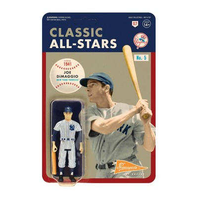 "MLB New York Yankees 3.75"" Classic ReAction Action Figure - Joe Dimaggio"