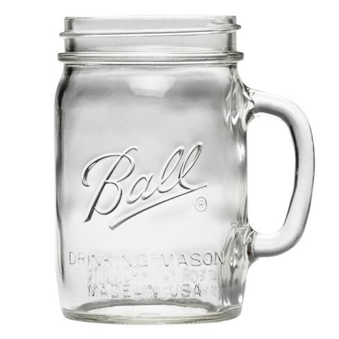 Ball 4ct 24oz Drinking Glass Mason Jars