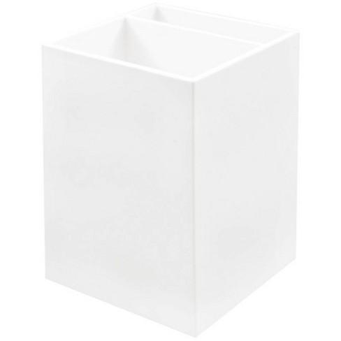 JAM Paper Desktop Plastic Pen Holder - White - image 1 of 4