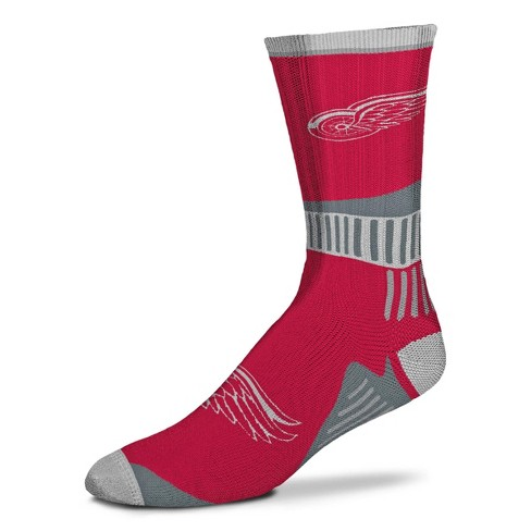 NHL Detroit Red Wings Sport Big Crew Sock - image 1 of 1