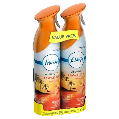 Febreze Air Freshener Hawaiian Aloha - 2ct 17.6oz