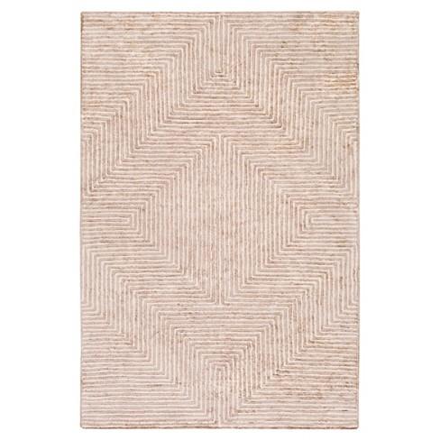 Gray Abstract Woven Area Rug - (9'X13') - Surya - image 1 of 3