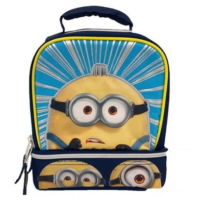 Minions More Than A Minion Kids' Dual Compartment Lunch Bag