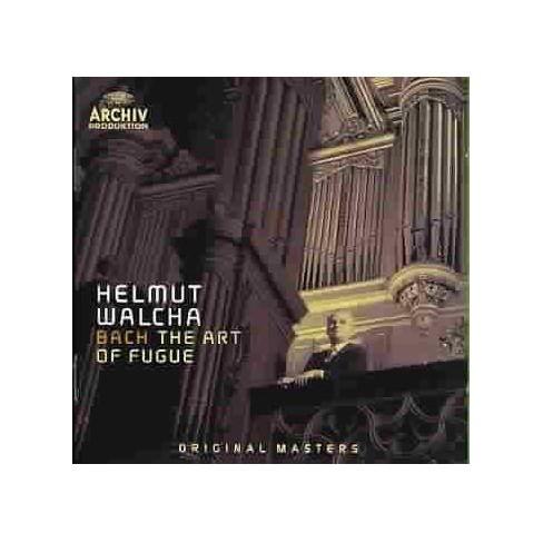 Helmut  Johann S.; Walcha Bach - Bach: The Art of Fugue (CD) - image 1 of 1
