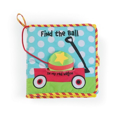 Manhattan Toy Soft Finding Activity Book, Find the Ball