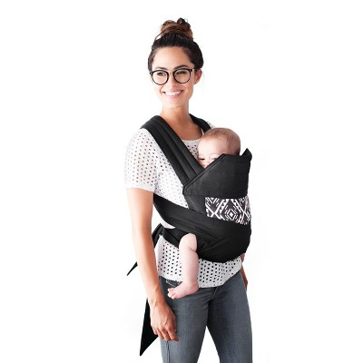 Moby Meh Dai Secrets Salvador Baby Carrier by Petunia Pickle Bottom - Black