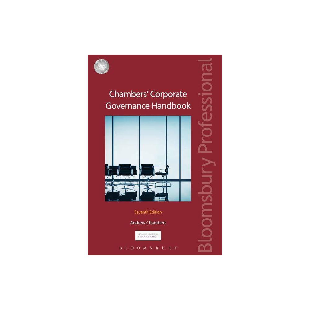 Chambers' Corporate Governance Handbook - (Directors Handbook) 7 Edition by Andrew D Chambers