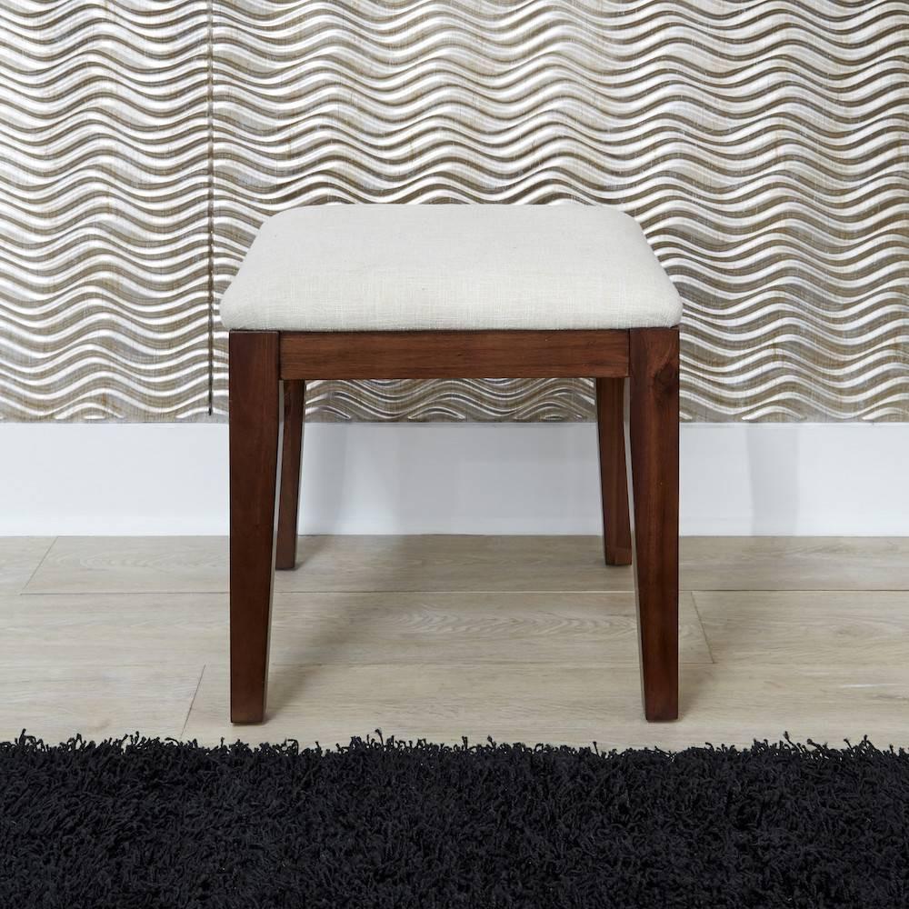 Bungalow Vanity Bench Medium Home Styles