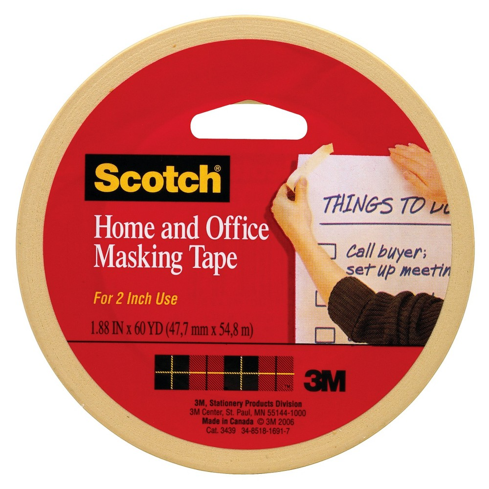 Scotch Masking Tape 2x6-yd.